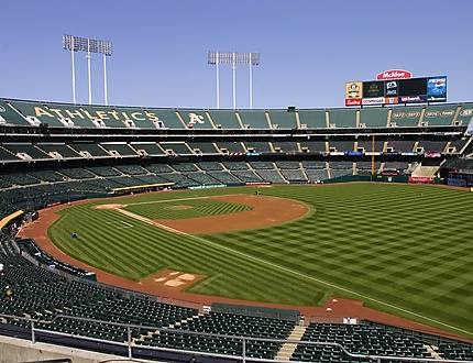 Oakland A's Sod by West Coast Turf