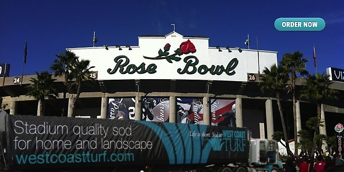 Rose Bowl Sod Delivery