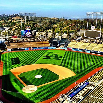 Dodger Stadium Sod